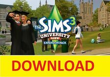 (PC/MAC) The SIMS 3 : University Life  (Origin Code) -= 24/7=-