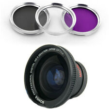 Bower 37mm 0.38x Wide Fisheye Lens, CPL-UV-FLD Filter for Olympus PEN E-PL3/E-P3