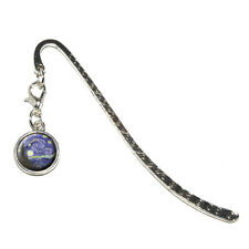Starry Night by Vincent Van Gogh - Metal Bookmark Page Marker with Charm