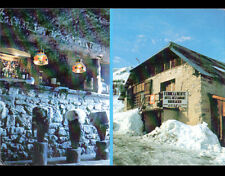 """LE SUPER SAUZE / BARCELONNETTE (04) BAR HOTEL RESTAURANT """"LA RENTE"""" en 1979"""