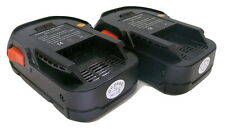 18V 2.0AH Lithium-Ion Cordless Drill Battery for 18 Volt RIDGID R8400 - 2 Pack