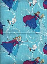 Disney Frozen Elsa Olaf Snowman Glitter Bedroom Window Valance Decor