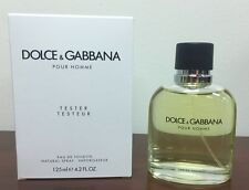Dolce & Gabbana Pour Homme 4.2 oz Cologne NEW in tester box with Cap & BOX