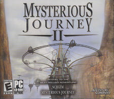 MYSTERIOUS JOURNEY II 2 - Sequel to Schizm - Adventure PC Game - SEALED NEW!
