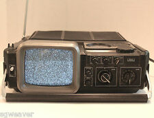 Vintage Sears Go Anywhere Solid State TV Radio UHF VHF AM FM Made In Japan