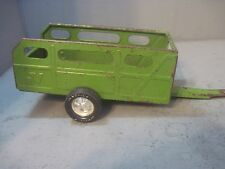 Nylint Farms Good Open Livestock Trailer Pressed Steel Collectible Toy 1970s