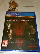 Metal gear solid v: the day one 1 PS4 neuf scellé uk pal Sony PlayStation 4