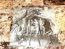 Aerosmith Rare Full Band SIGNED Night In The Ruts Vinyl Joe Perry Steven Tyler