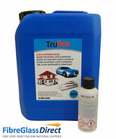 5kg TruPro Polyester Resin (Lloyds Approved) & Catalyst - GRP Repairs