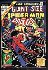 Giant Sized Spider-Man and Dracula #1 ~ 1974 (7.0) WH
