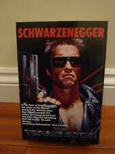 "Neca The Terminator Ultimate T-800 Tech Noir 7"" Action Figure - Arnie BNIB"