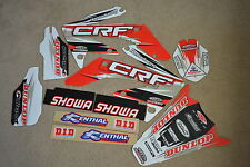 FLU  DESIGNS TS1 TEAM  HONDA GRAPHICS & BACKGROUNDS CRF250R  CRF250 2004 2005