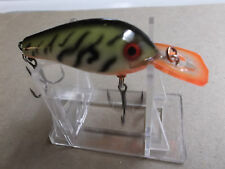 Custom Painted Rapala Wood Fat Rap,FR-5,#63,Table Rock Craw,Silent