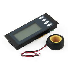 100A AC Digital LED Power Meter Monitor Voltage KWh Watt Voltmeter Ammeter BY