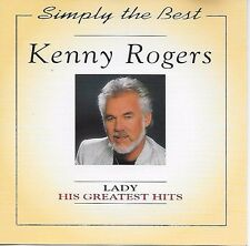 Kenny Rogers – His Greatest Hits CD Album 1995