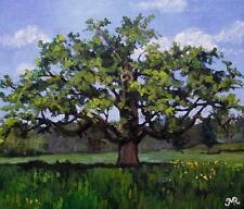 Original Impressionist Painting by Melanie Reynoso : The Old Oak Tree