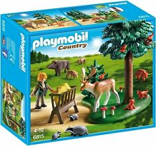 Playmobil 6815 pays forester's woodland glade playset
