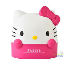 Pink Hello Kitty Office Bathroom Bedroom Roll Tissue Kleenex Box Cover Holder