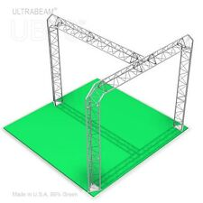 Trade Show Booth, 10' X 10' X 8' Made of Aluminum Triangle Trusses