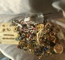LARGE CRAFT JUNK JEWELRY LOT