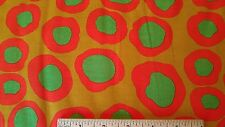 Fish Lips by Brandon Mable Rowan REDUCED F - BM07 Sunny - 1 Yard