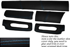BLUE STITCH FITS LOTUS ELISE EXIGE S1 96-01 FIVE PIECE DASH KIT COVERS ONLY