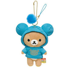 Authentic San-X Hoodies Rilakkuma Plush Which Color Do You LIke Charm - Blue
