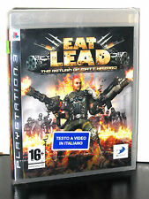 EAT LEAD THE RETURN OF MATT HAZARD GIOCO NUOVO SONY PS3 EDIZIONE ITALIANA PG694