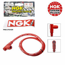 New NGK Racing Cable 8515 CR5 900404 For ATVs Straight Cap - 5 Ohm Resistance