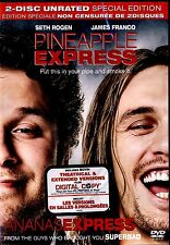 NEW 2DVD SET // Pineapple Express - Unrated Edition // SETH ROGEN, JAMES FRANCO