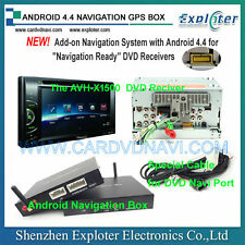 Add-on Android4.4 navigation system for Pioneer Head unit