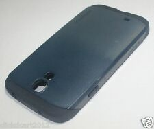 Dual Tone Slim TPU Back Case With Screen Protector For Samsung Galaxy S4 i9500
