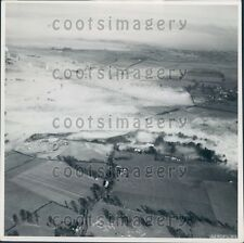 Aerial Fog Over Hertfordshire County England A Ewing Galloway Press Photo