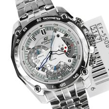 Casio  Edifice Men's Wristwatch  EF-550-7AVDF WHITE DIAL CHRONOGRAPH