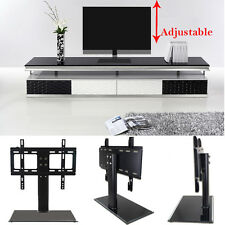 """Universal LED LCD Flat Screen TV Table Bracket With Stand/Base fits 37""""-55"""" TV"""