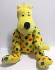 Kohl's Cares Put Me in the Zoo Yellow Polka Dot Plush Toy Dr. Seuss 2014 EUC 12""