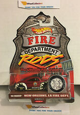 Tail Dragger New Orleans, LA * Fire Rods * Hot Wheels w/Real Riders * H13