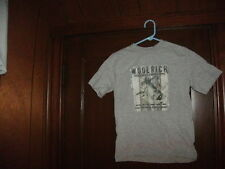 WOOLRICH MISC BOX #4 BASS SCENE S/S gray size boys small junior BRAND NEW