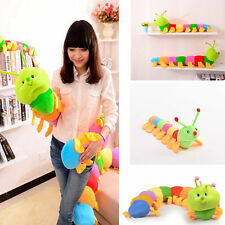 Cute Kids Baby Colorful Inchworm Soft Caterpillar Developmental Gifts Toys 50cm
