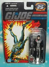 G I GI JOE 25TH ANNIVERSARY NAVY SEAL TROOPER TORPEDO FIGURE MOC