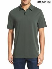NWT $135 JAMES PERSE STANDARD TRIM FIT PIQUE POLO SHIRT. MADE IN USA. SZ 4(XL)