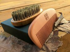 Beard Brush Broar Bristles Handmade Beard Comb Kit for Men Beard / Mustache