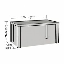 Garland W1172 4 Seater Rectangular Table Cover Garden Furniture Cover