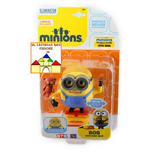 MINIONS - I Minion - Personaggio Deluxe 12cm BOB con TEDDY BEAR by MTW