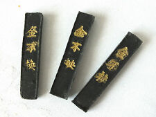 3 S JAPANESE SUMI BLACK INK STICK BRUSH WRITING PAINTING CHINESE CRAFT LEARNER