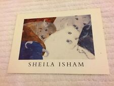 SHELIA ISHAM Cosmic Earth Bull Series GREGORY GALLERY Invite New York NY 1999