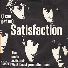 The Rolling Stones - Satisfaction / The Under Assistant -Dänemark/England 1965