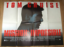 Tom Cruise  MISSION IMPOSSIBLE (1996)  Original movie poster