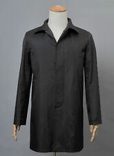 Broadchurch Trench Coats Costumes Alec Hardy Black Best Cosplay