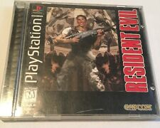 Resident Evil (Sony PlayStation 1, 1996) Complete